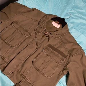 Aeropostale Military Green Jacket